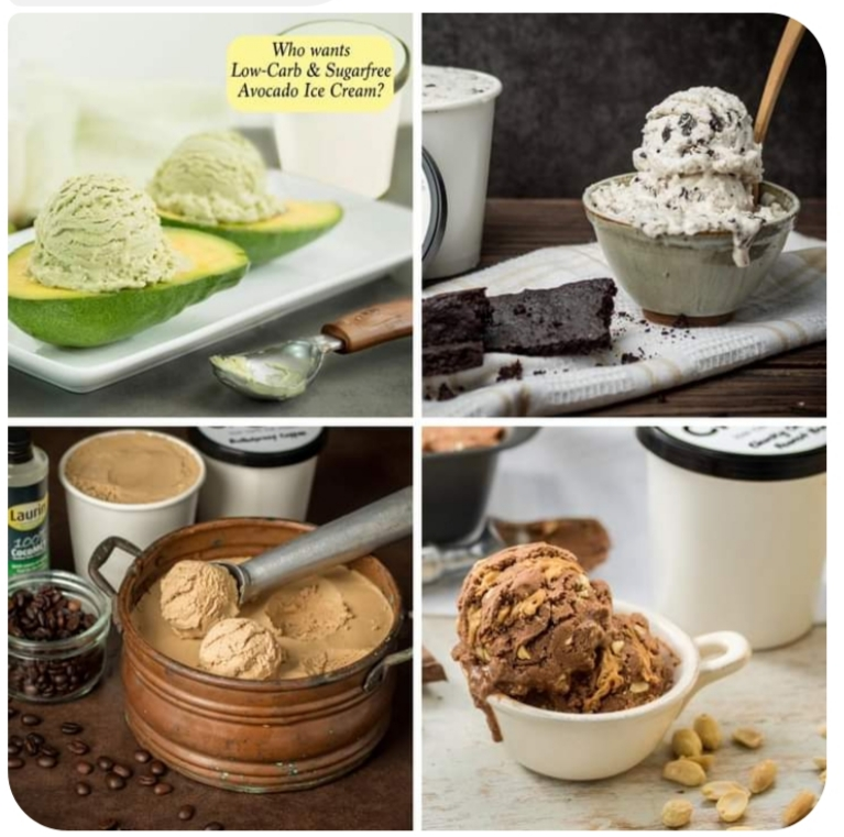 Vegan and Keto Ice cream by Barni